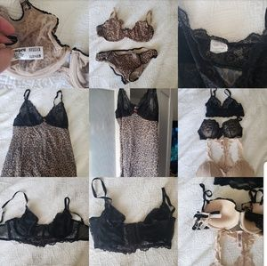 Other - Sexy lingerie 14 piece lot some NWT slip bra sets